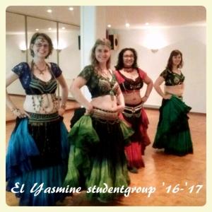 El Yasmine, studentgroup, tribal fusion bellydance, Nijmegen